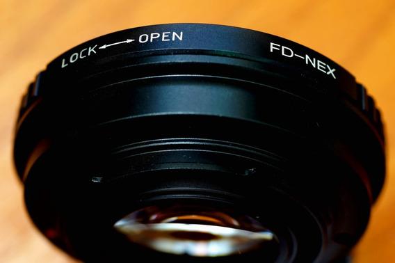 Canon F D Redutor Focal ( Speedbooster ) - Ótimo Estado