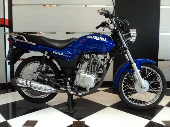 Suzuki Gs 120 Azul 2017