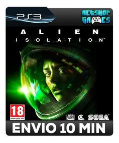 Alien Isolations - Psn Ps3 - Dub Português - Pronta Entrega