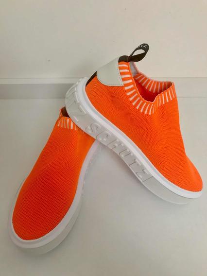 Sneaker Schutz Bold Knit Laranja