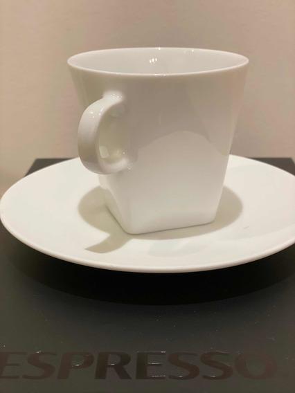 Nespresso - Set Taza Lungo + Plato (x2) - Pure