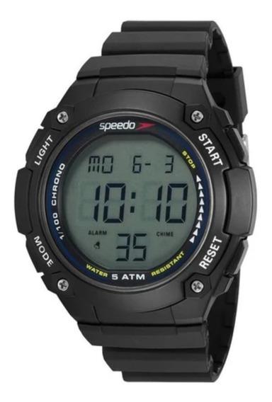 Relógio Masculino Speedo Preto Digital Original + Nf