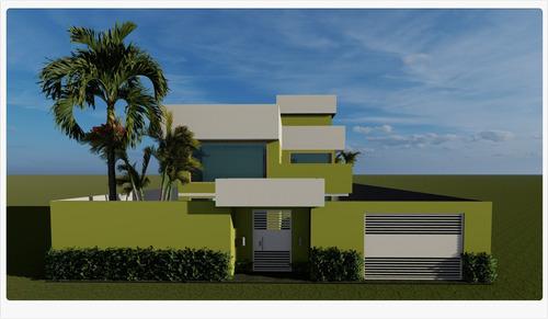 Projeto Arquitetônico - Paraíso Tropical / Para Construção
