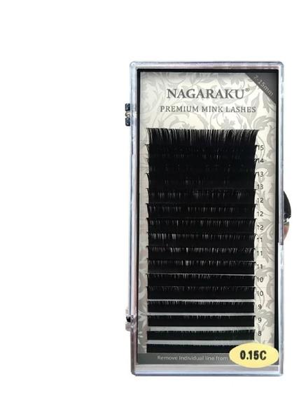 1 Blister Mixto Extensiones De Pestañas Mink 1 A 1 Nagaraku