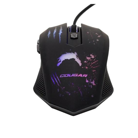 Mouse Gamer Dazz Attack 6 Botões 2400dpi Led