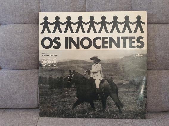 Lp Vinil Os Inocentes Tv Tupi