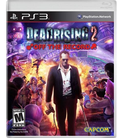 Game Dead Rising 2 Ps 3 Playstation Jogo De Zumbi Ação Novo