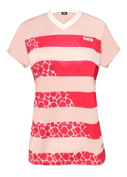 Camiseta De Fútbol Femenino Dribbling Fierce Pink