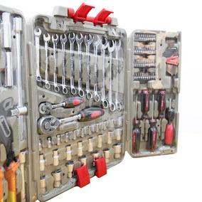 Jogo De Ferramentas Para Mecânico Kit Com 110 Pçs Mayle