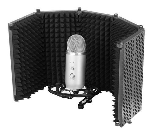 Panel Filtro Acústico De Micrófono De Estudio De 5 Paneles