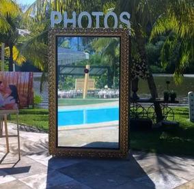 Espelho Mágico De Fotos Estrutura Completa Sem Impressora