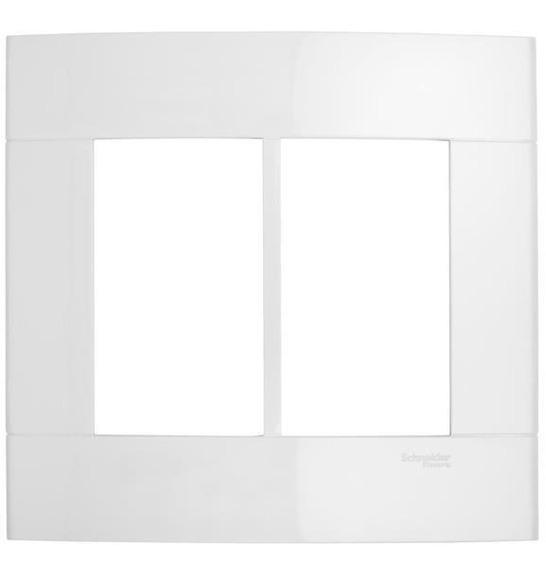 Placa 4x4 6 Postos Branco Puro