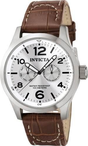 2ba01926fcb6 Reloj Invicta 765 Cuero Marrón Hombre -   259.900 en Mercado Libre