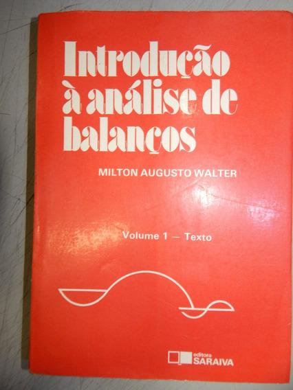 Introdução À Analise De Balanços - Vol 01 - Texto