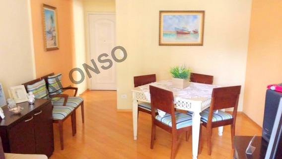 Apartamento Para Venda, 3 Dormitórios, Jardim Das Vertentes - São Paulo - 15523