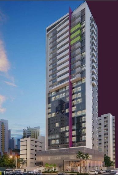 Apartamento Em Tambaú, João Pessoa/pb De 49m² 2 Quartos À Venda Por R$ 332.000,00 - Ap211423