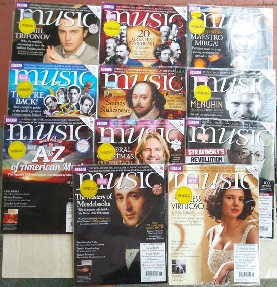 Revista Clássico Music Bbc Inglaterra Com 11 Em Inglês Semcd