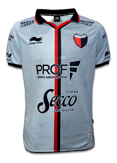 Camiseta Alternativa Colon De Santa Fe Burrda Sport 2018 2019 Gris