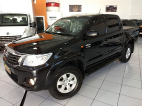 Toyota Hilux Dupla Sr 2013 Preta 2.7 Flex Automática 54000km