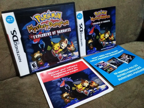 Pokemon Mistery Of Dungeon Explores Of Darkness Nintendo Ds