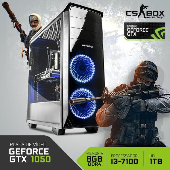 Pc Gamer Neologic Cs Box Nli7019 I3 8gb (gtx 1050) 1tb
