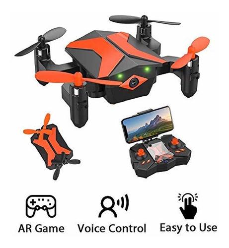 Dron Plegable Con Cámara Para Niños - Attop