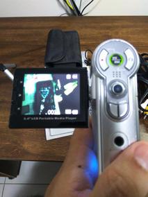 Câmera Fotográfica E Filmadora Aiptek 7 Em 1 - Ótimo Estado!