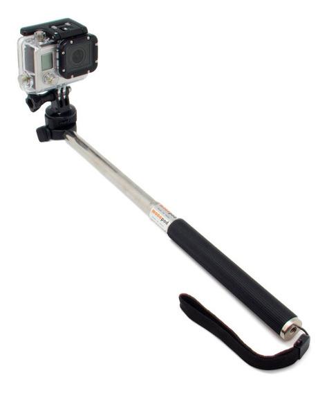 Bastão Extensor Pau De Selfie De Aço Gopro Sjcam Eken Xiaomi