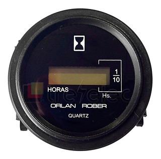 Horímetro Cuentahoras Digital 12 -24 Volts 6 Dígitos O Rober