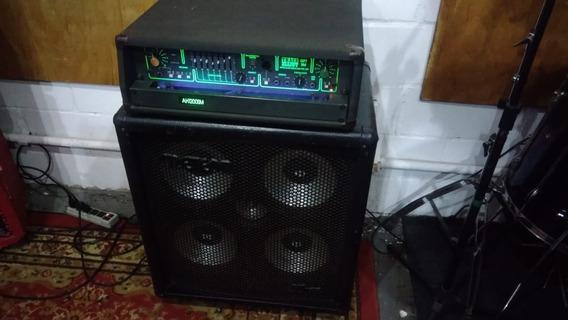 Amplificador De Baixo Trace Elliot Made In England C Caixa