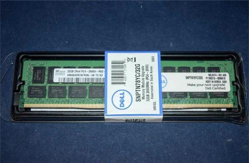 Imagem 1 de 2 de Memória 32gb Ddr4 Pc4-2666 2666 Mhz Rdimm Snptn78yc/32g Dell