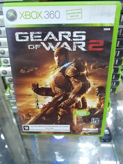 Jogo Gears Of War 2 Xbox 360, Mídia Física, Usado