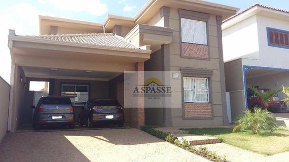 Casa Residencial À Venda, Condomínio Bella Città, Ribeirão Preto. - Ca0156