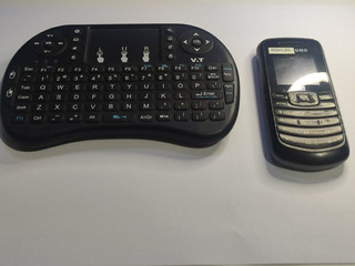 Kit Celular + Mini Teclado Touchpad C/ Defeito #3267