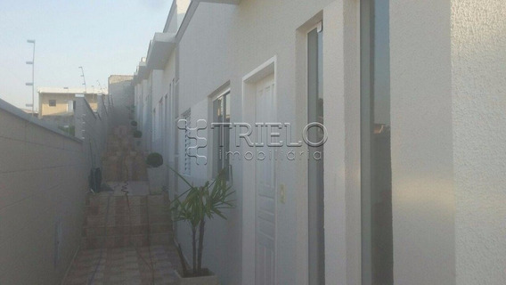Venda-casa Em Condominio Com 02 Dormitorios-01 Vaga-jardim Modelo -mogi Das Cruzes-sp - V-1800