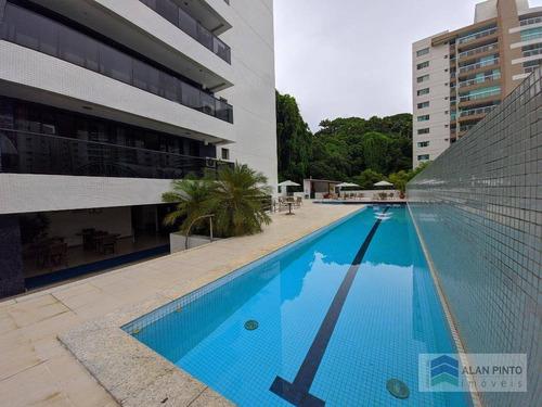 Apartamento Com 1 Quarto E Varanda À Venda, 51 M² Por R$ 470.000 - Barra - Salvador/ba - Ap1394