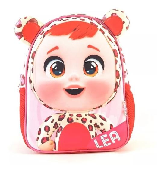 Mochila Cry Babies 3d Jardin 11¨ Original 98301 Lea