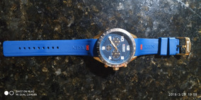 Relógio Curren Sport Azul