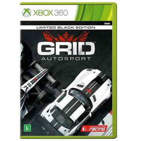 Jogo Lacrado Grid Autosport Limited Black Edition Xbox 360