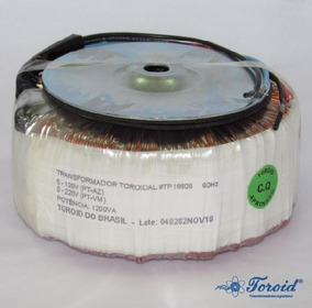 Transf. Toroidal - At - Co - 0 - 120v - 220v - 1200va