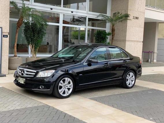 Mercedes-benz Classe C 2011 1.8 Cgi Avantgarde 4p