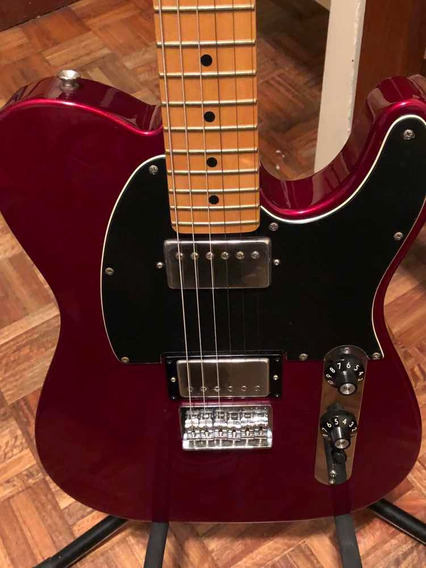 Guitarra Fender Telecaster Blacktop Impecable Mexico