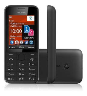 Celular Seminovo Nokia Asha 208 208.2 Dual Chip 3g