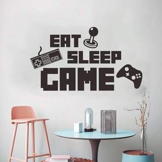 Gamer Come Duerme Juega ! Vinilo Decorativo