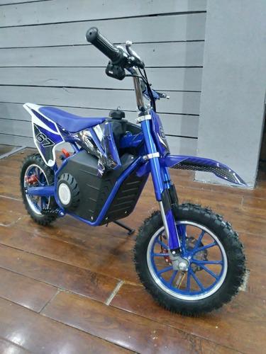Mini Moto Cross Eléctrica Juguete Niños 18 Cuotas $4.362 I