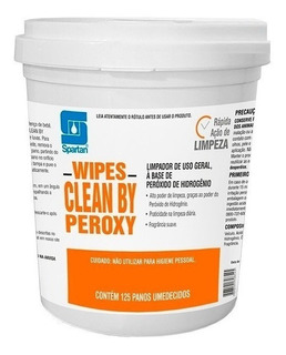 Wipes Clean By Peroxy - Panos Umedecidos Spartan
