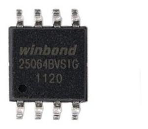 Eprom Ci Chip Winbond W25q64bvsig Sop8 200mil Memoria Virgem
