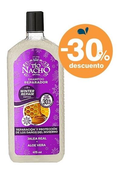 Tio Nacho Shampoo Reparador Jalea Real Invierno 415ml
