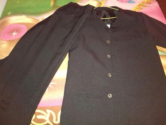 Pantalón Y Saco Ideal Para Elegantes Fiesta Talla 08 Y 14