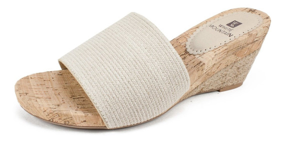 Montaña Blanca Zapatos Aleah Cuña Mujeres